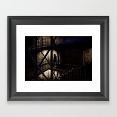 + Inside the Tower, Prague (czk) Framed Art Print