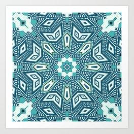 Geometric Power Art Print