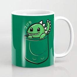 Pocket Godzilla Coffee Mug