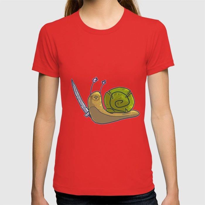 Guérison-Warrior Snail T-Shirt