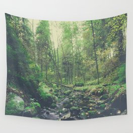 Mountain of solitude Wall Tapestry