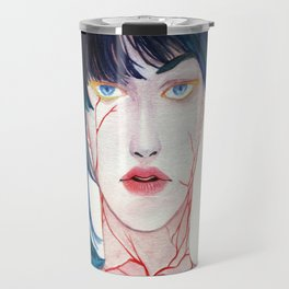 Fire in the heart, Water in the eyes Travel Mug