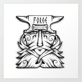The FORGE Art Print