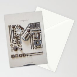 Heavy Metal Stationery Cards