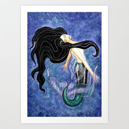 Mermaid Art - Mermaiden Art Print