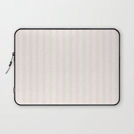 Pink Linen Stripe Laptop Sleeve