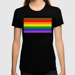LGBTQ Pride Flag (More Colors More Pride) T-shirt