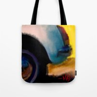 grand theft auto Tote Bags featuring Auto by pandaliondeath