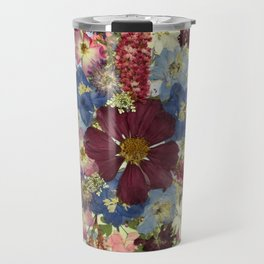 Flower Burst Travel Mug