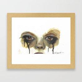 She Wants Revenge Framed Art Print