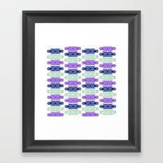 art deco pattern #3 Framed Art Print