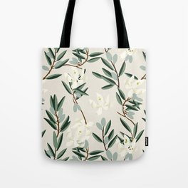 OLIVE BLOOM Tote Bag