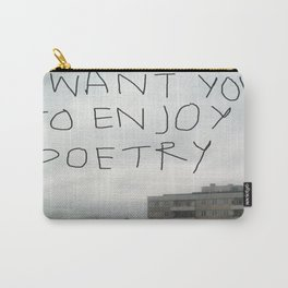 poetry Carry-All Pouch