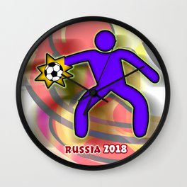 GoalKeeper 2 Wall Clock
