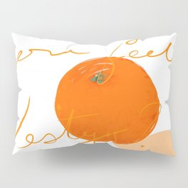Orange you feeling zesty Pillow Sham
