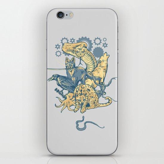 Shadow Moses iPhone & iPod Skin