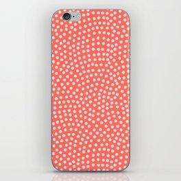 Living Coral Samekomon Spring iPhone Skin
