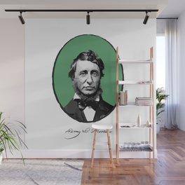 Authors - Henry David Thoreau Wall Mural