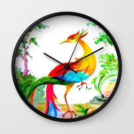 The Famous Mythological Greek Phoenix Wall Clock