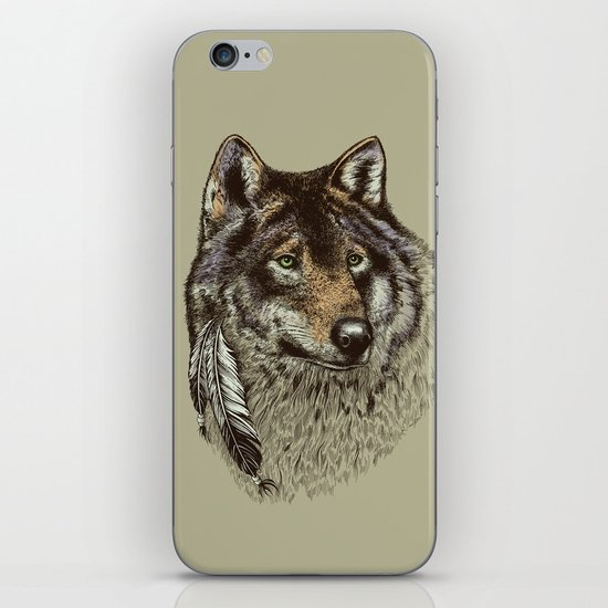 Wolfen iPhone & iPod Skin