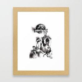 Jurassic World Part 2 Framed Art Print