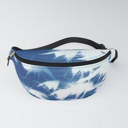 Nature cyanotype I Fanny Pack