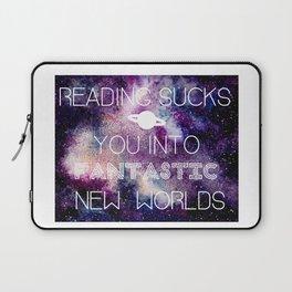 Reading Sucks! Laptop Sleeve
