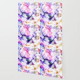 Rainbow Marigolds Wallpaper