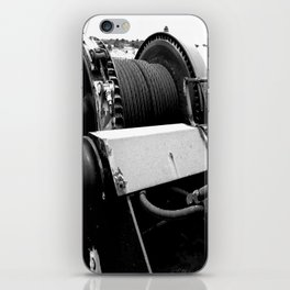Cable Winch iPhone Skin