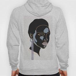 Black girl, Melanin queen, African American women, dark skin girl, afro female Hoody