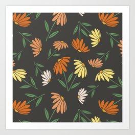 Garden Flowers Style C Art Print