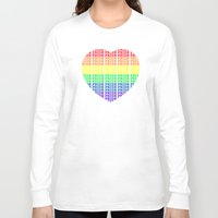 pride Long Sleeve T-shirts featuring Pride by Tony Vazquez