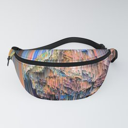 Weird Glitches - Abstract Pixel Art Fanny Pack