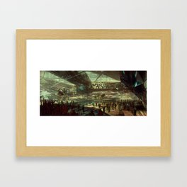 The Search Begins Framed Art Print
