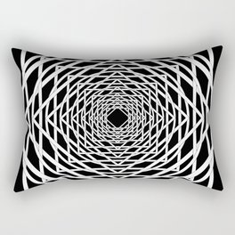 Diamonds in the Rounds Midnight Version Rectangular Pillow