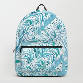FEATHER FLOW Aqua Watercolor Backpack
