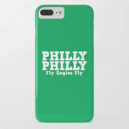 Philly Philly Fly Eagles Fly iPhone Case