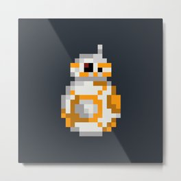 Droid BB-8 Metal Print