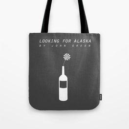 looking for alaska Tote Bag