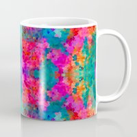 kaleidoscope Mugs featuring Kaleidoscope by Amy Sia