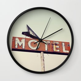 Vacancy Wall Clock