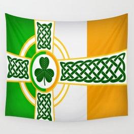 Celtic Irish Flag Wall Tapestry