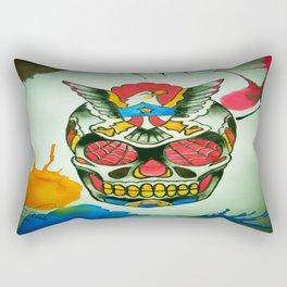 TJ Johnson Memorial Tattoo Piece Rectangular Pillow