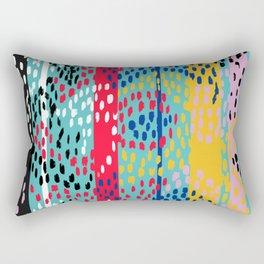 Random Dots Rectangular Pillow