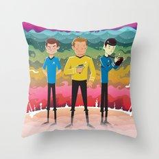 Strange New Worlds Throw Pillow