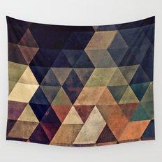 fyssyt pyllyr Wall Tapestry