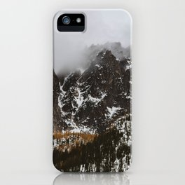 larches on the mountain iPhone Case
