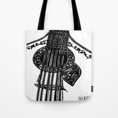 Fado Guitar Tote Bag