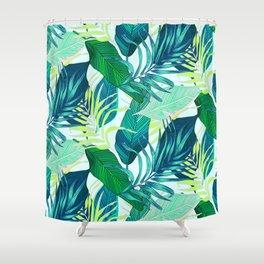 Tropical frenzy Shower Curtain