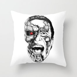 The all new Terminators. The psychopath Throw Pillow